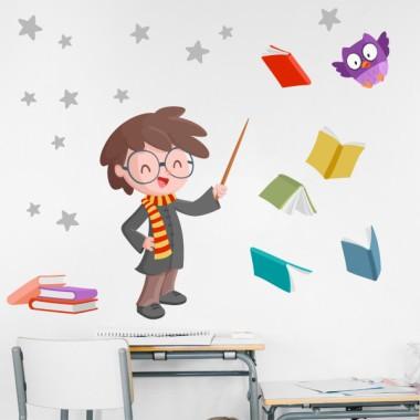 Harry Potter - Vinils decoratius per a nens i nenes