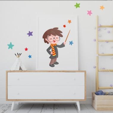 Toiles décoration enfant - Harry Potter