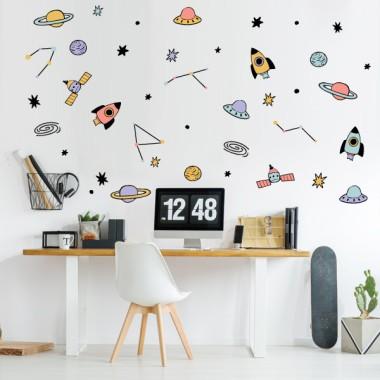 Vinilos decorativos juveniles - Space