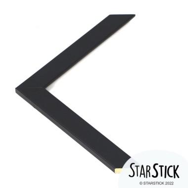 Marc de fusta lacat negre - Mides A4, A3 o A2