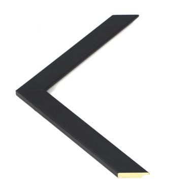 Marco de madera lacado en negro - Tamaños A4, A3 o A2