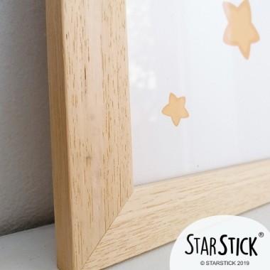 Marco de madera - Tamaños A4, A3 o A2