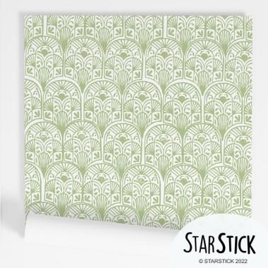 Paper de paret autoadhesiu - Arcs ètnics - Verd