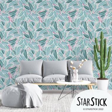 Paper de paret autoadhesiu - Fulles d'eucaliptus
