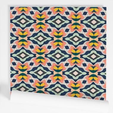 Paper de paret autoadhesiu - Textures ètniques
