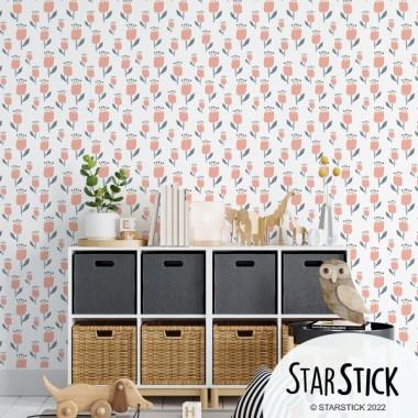 Color a escollir - Paper de paret autoadhesiu - Tulipes