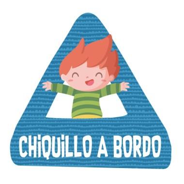 Chiquillo a bordo – Pegatinas infantiles para coche