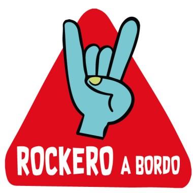 Rockero a bordo – Pegatinas para coche