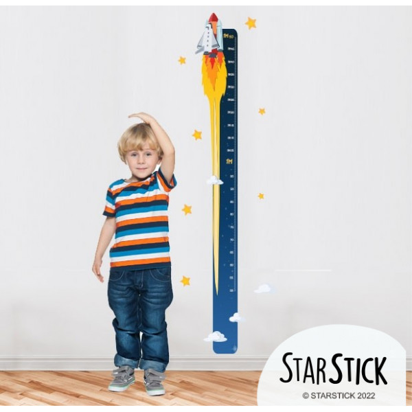 Medidor Cohete Niño - Vinilos infantiles