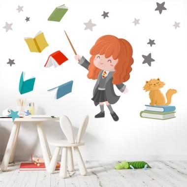 La amiga de Harry - Vinilos infantiles para niños y niñas