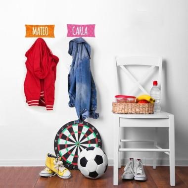 Penjador infantil personalitzat - Cuadrat