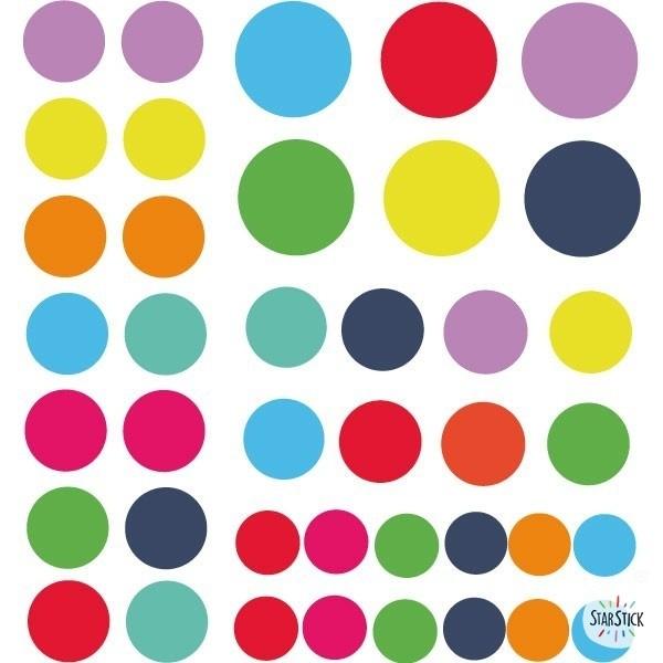 Pack supplémentaire - Avion avec des confettis Packs supplémentaires Paquet supplémentaire40 confettisentre 2 et 4,5 cm de diamètre. Taille de la feuille: 25x25cm vinilos infantiles y bebé Starstick
