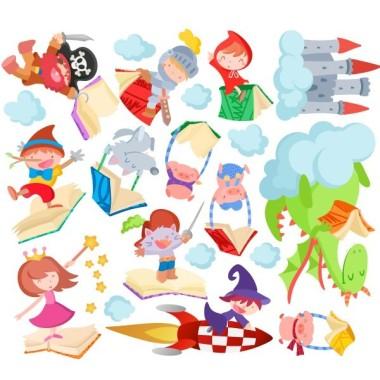 Histoires pour enfants - Sticker enfant
