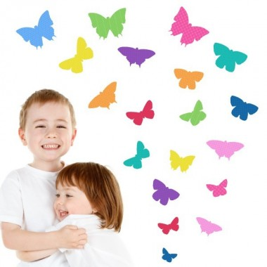19 Mariposas Party - Vinilos infantiles