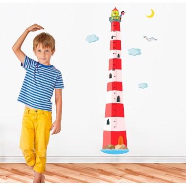 Faro medidor Niño - Vinilos infantiles