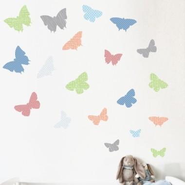 19 Mariposas Oslo - Vinilos infantiles