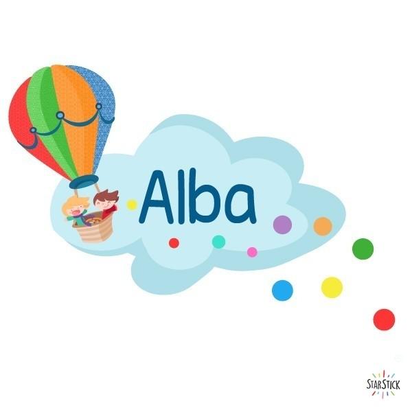 Ballon mit konfetti - Namen für türen Vinyl kinder