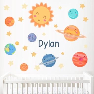 Planetes infantils - Vinils decoratius