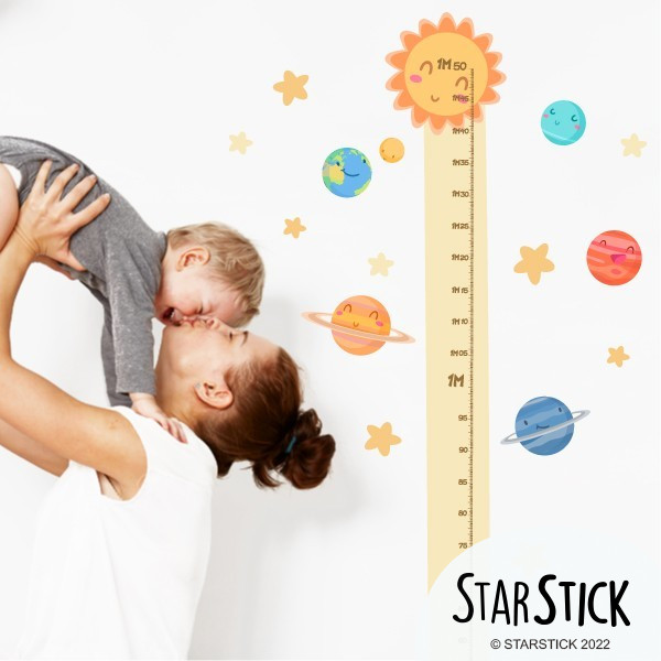 PLANÈTES ENFANTS - Sticker toise