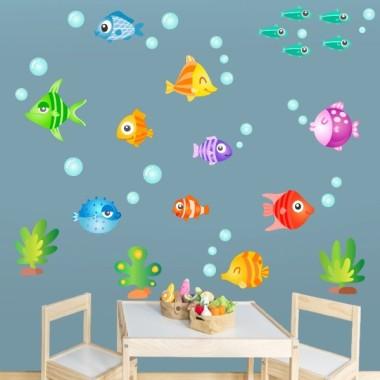 Peixos tropicals - Vinils infantils