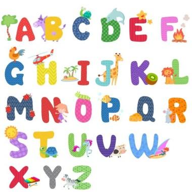 Sticker enfant éducatif ABC