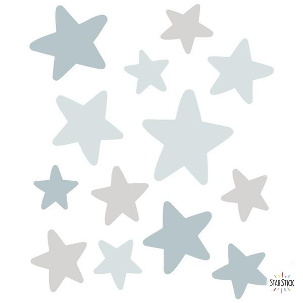 Pack supplémentaire -  Étoiles lapin Bleu