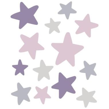 Pack supplémentaire -  Étoiles lapin Violette