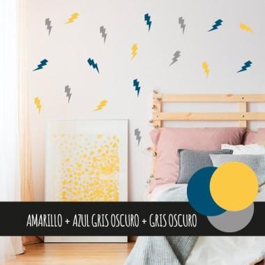 Vinilos nórdicos Rayos Hipster - Vinilos decorativos de pared