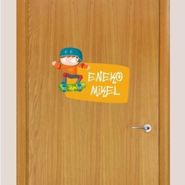 Skater - Nom per a portes