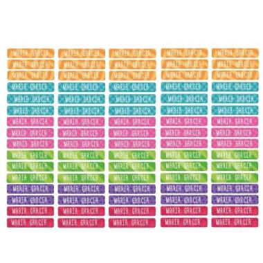 Modèle 23 - Étiquettes personnalisées rectangulaires - Mini