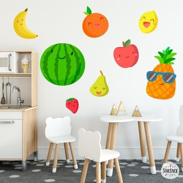 Fruits - Sticker pour enfant