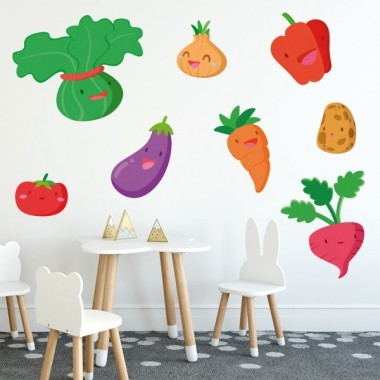 Verdures - Vinil decoratiu infantil