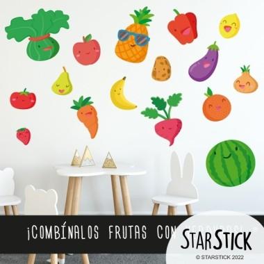 Verduras - Vinilo decorativo infantil