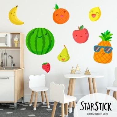 Verdures - Vinil decoratiu infantil Vinils educatius / escoles     Divertides il·lustracions de verdures per decorar menjadors escolars, zones de joc, aules... Atreveix-te i canvia d'estil els teus ambients amb els vinils infantils de StarStick! Mides aproximades del vinil enganxat (ample x alt) Petit: 90x50 cm Mitjà: 140x60 cm Gran: 100x90 cm Gegant: 270x115 cm     vinilos infantiles y bebé Starstick