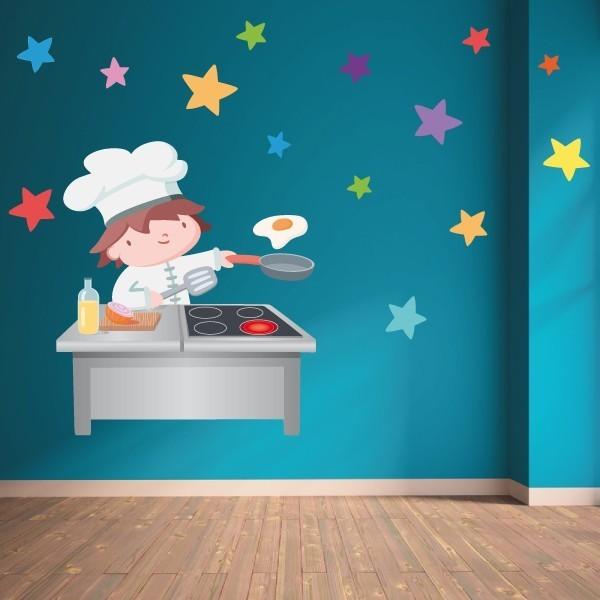 Cuisiner - Sticker pour enfant