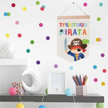 Territori pirata - Banderoles infantils
