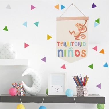 Territorio niños - Banderolas infantiles
