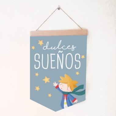 Dolços somnis petit príncep - Banderoles infantils