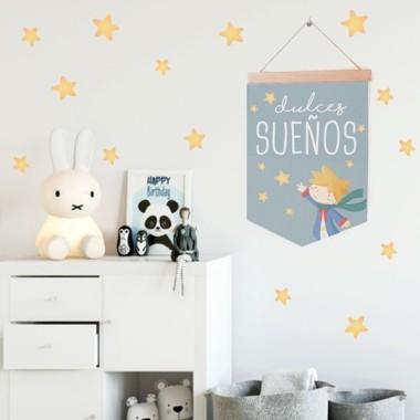Banderola Bebé Dulces sueños pequeño príncipe - Banderolas infantiles