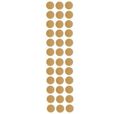 Confettis dorés - Sticker muraux