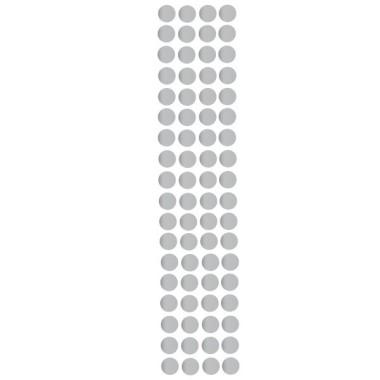 Sticker dots - Mini confettis argent
