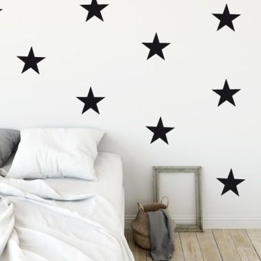 Vinil estrelles big - Vinils de paret Vinils d'estrelles Vinil decoratiu amb estrelles grans. Escull color, fes combinacions i aconsegueix una paret totalment personalitzada al teu gust. Comença ja a decorar amb els vinils StarStick.Mesures del vinilOpció 1: 8 estrellesMida de cada estrella: 15 cm d'ampleOpció 2: 12 estrellesMida de cada estrella: 15 cm d'ample vinilos infantiles y bebé Starstick