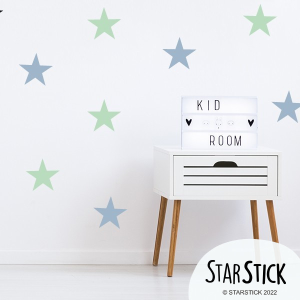 Sticker étoiles Big - Stickers muraux