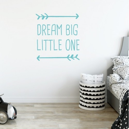 Dream big little one - Stickers bébé