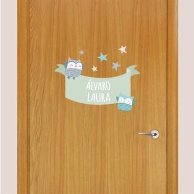 dekorfolien f r t ren f r kinder starstick vinilos infantiles. Black Bedroom Furniture Sets. Home Design Ideas