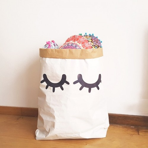 Paper bag - Sac en papier Sleepy eyes