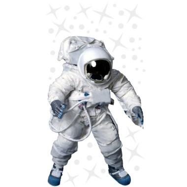 Astronaute réaliste - Sticker fluorescent pour enfants