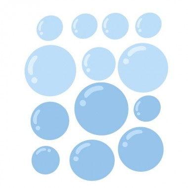 Pack supplémentaire - Bulles bleues