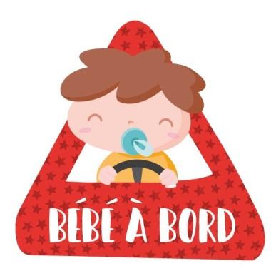 """Nadó a bord - Adhesiu per a cotxe Adhesius Nadó a bord Adhesius per a cotxe """"Nadó a bord"""". Triangle per enganxar a la part exterior del cotxe.Mida del triangle: 16x15 cmMaterial: Vinil mat laminat vinilos infantiles y bebé Starstick"""