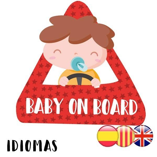 Bebé a bordo –  Adhesivo para coche